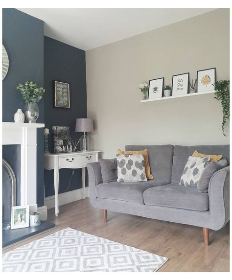 Amy Newton Interiors - Interior Designer - Manchester and Cheshire #cosy #modern #living #room #blue #cosymodernlivingroomblue