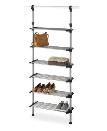 Whitmor Closet 6 Regal Schuhregal System Amp Bewertungen Reinigung Amp Organisation Home Macy 39 S 6regal In 2020 Metal Shoe Rack Shoe Rack Closet Whitmor