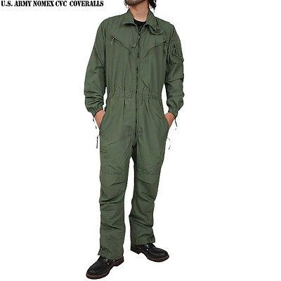 New Cvc Suit Flight Suit Mens Genuine U S Military Army Tankers Coveralls Flight Suit Coveralls Suits