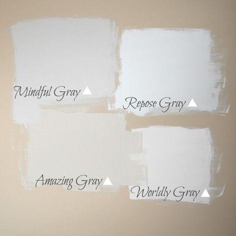 Grays on Wall