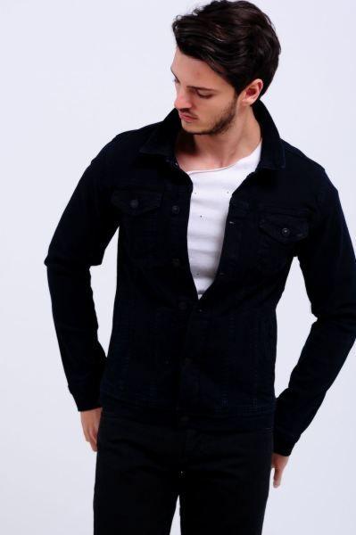 Erkek Kot Ceket Koyu Lacivert Cift Cep Kot Ceket Abiye Marjinal Gotik Erkek Moda Aksesuar Firsat Modelleri Indirim Genc K Erkek Kot Moda Kot Ceket