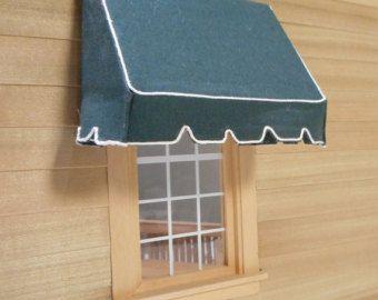 Miniatuur Winkel Luifels In 1 12 Schaal Etsy Shop Awning Home Decor Shops Window Frame