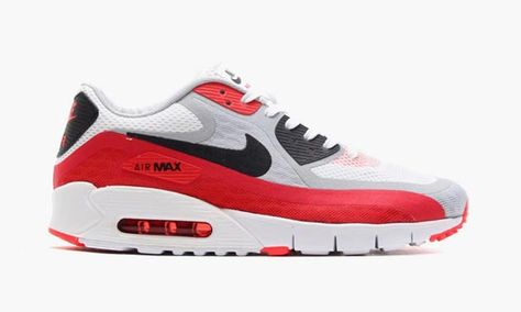 nike air max 90 hyperfuse infrared crooked tongues