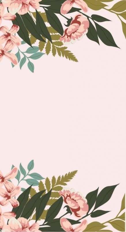 Flowers Background Pastel 25 Trendy Ideas Kertas Dinding Ilustrasi Latar Belakang