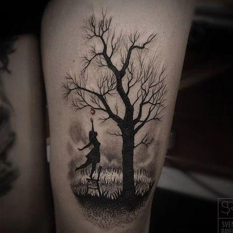 Beautiful Tree Tattoos Part 1   Tattoodo.com