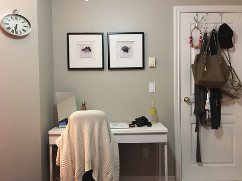 Walls Painted Sculptor Clay By Behr Trim And Door Simply White Benjamin Moore