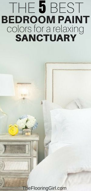 The 5 Best Paint Colors For Bedrooms | Bedroom paint colors ...