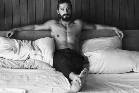 thatkindofwoman:          So… okay. Yes. umm. Gah, let's try and formulate a full sent… Nope…              Shia LaBeouf for Interview Magazine November 2014              photography: Craig Mcdean             styling: Karl Templer      What, what what. I can't, what?!  When did this happen?! I'm suddenly attracted to Shia LaBeouf