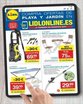 venta de tienda outlet Tienda online Venta barata Nuevo catálogo Catálogo Lidl compra ofertas de playa y jardin de ...