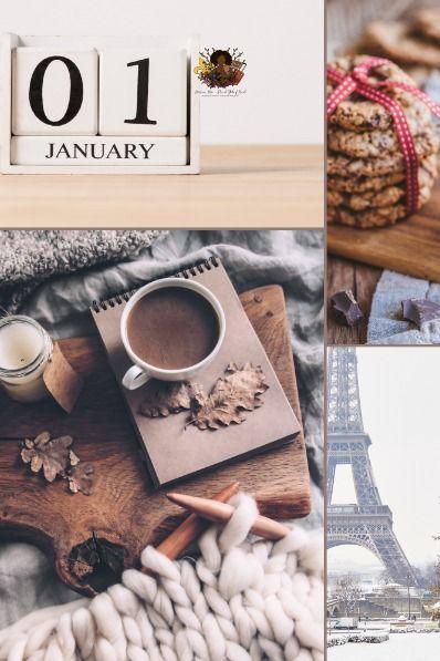 Parisian Style Digital Calendar 2021 2022 | Digital calendar