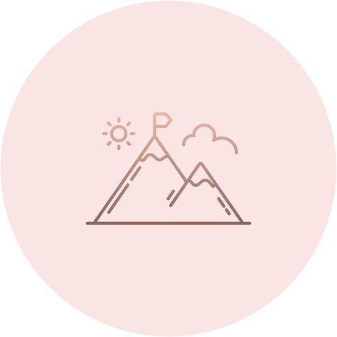 Иконки вечных сториз для аккаунта Инстаграм, хайлайтс, актуальное, закрепленные сторис, пиктограммы, профиль, страница, блог, блогер, блоггер, заставка, горы, кемпинг, лыжи, сноуборд
