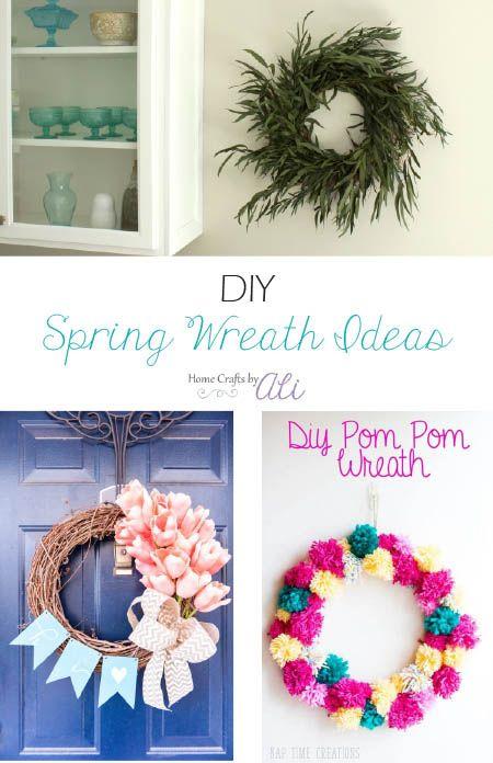 Diy Spring Wreath Ideas Make Your Door Welcoming And Beautiful