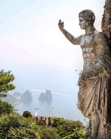 "Amalfi Coast on Instagram: ""Have a Good Day from #capri ❤️ by @aktug - - #capriisland #capriitaly #italy #italy🇮🇹 #instalike #vacation🌴 #vacationvibes #vacationgoals…"""