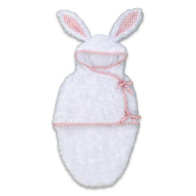 """Reindeer Hooded Fleece Bunting For Baby Dolls Up To 22"""" by Asthon Drake"""