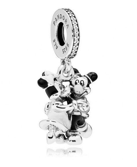 Pandora Disney Charm Danse De Mickey Et Minnie Soldes Super