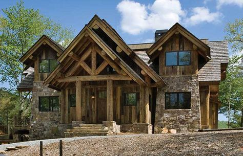 61 Ideas House Small Timber Frames In 2020 Log Homes Timber House Log Home Floor Plans