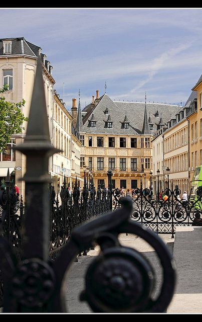 Grand Ducal Palace in Luxembourg City , Luxembourg