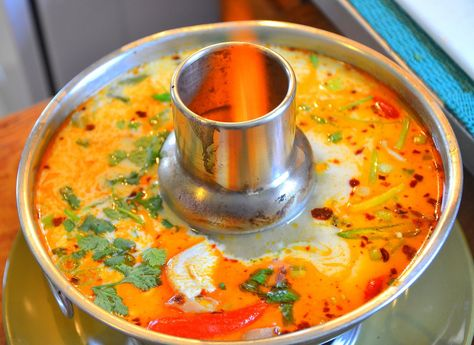 Great Thai Tom Kha Gai recipe! I just made this and it is all kinds of yummy!