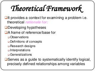 Conceptual And Theoretical Framework | Research Writing, Social Science  Research, Research Paper Thesis