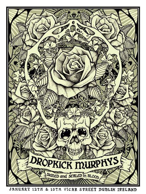 53 Dropkick Murphys Ideas Dropkick Murphys Dropkick Murphys Tattoo Irish Punk