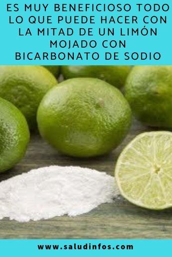 como aclarar la piel con limon y bicarbonato de sodio