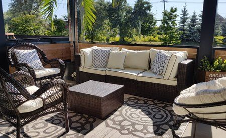 patio sectional outdoor furniture sets