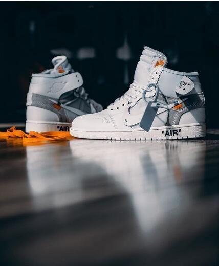 6bd9e2b1fac How to get Nike Off-White Air Jordan 1 OG White in 2019   Original ...
