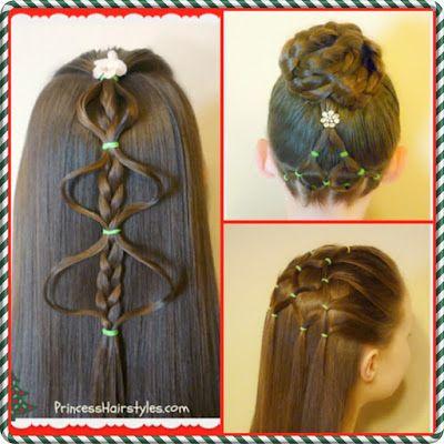 Everyone Girl Needs A Cute Hairstyle For Christmas Try This Pretty Mermaid Braid Christmas Tree From Babesinhai Hair Styles Mermaid Braid Christmas Hairstyles