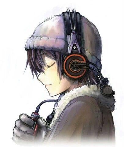 Anime Boy With Headphones Anime Art Anime Guys Anime Anime Anime Boy With Headphones Cute Anime Boy Anime Guys With Glasses