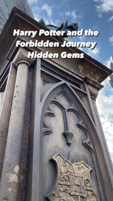 Harry Potter and the Forbidden Journey Hidden Gems