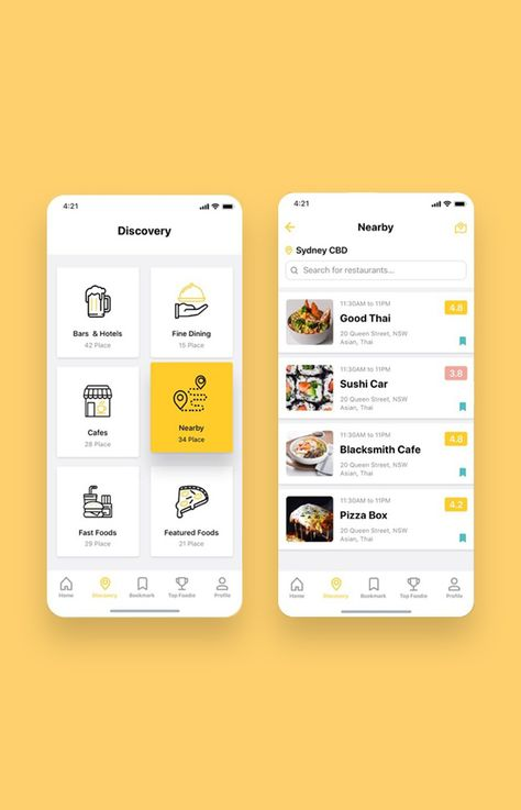 Foodiez Restaurant App UI Kit