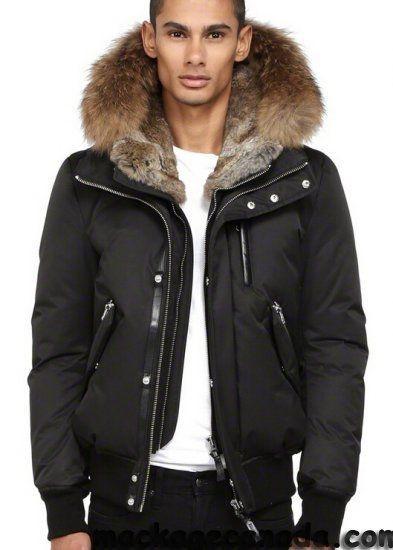 Break The Winter Chill Men S Winter Coats Fur Hood Jacket