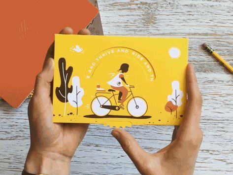 Impact Mailer Pinwheel by Theresa Ptak #Design Popular #Dribbble #shots