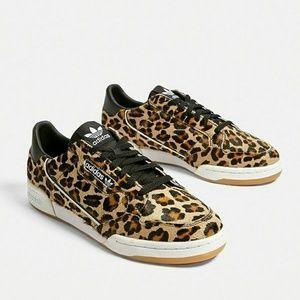 adidas Continental 80 Leopard F33994 | 43einhalb Sneaker Store