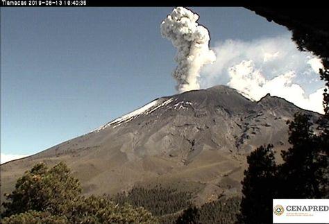 SpaceByEli: 🌋 Volcán Popocatépetl ║ 14.Ago.2019