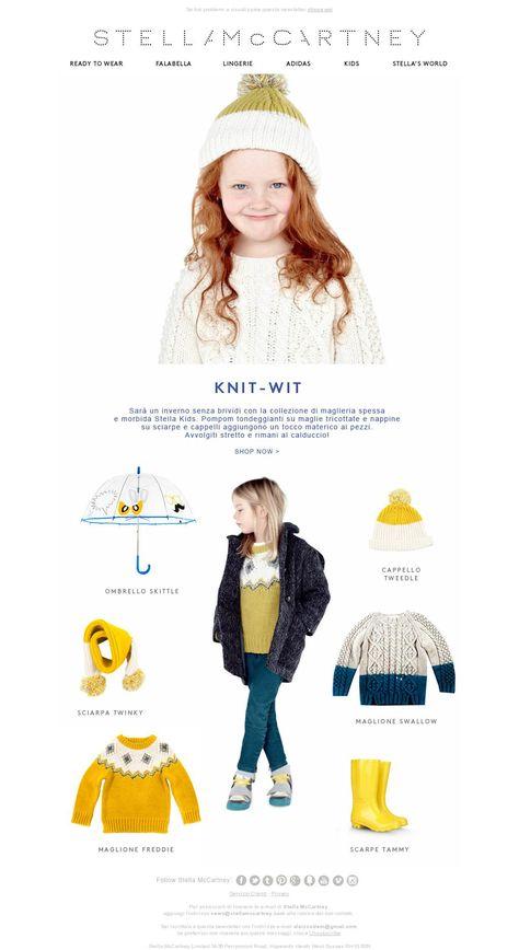 Chunky, Funky Knitwear from Stella Kids!