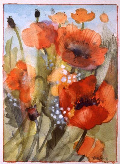 Shirley Trevena On Pinterest Flower Painting Flower Art