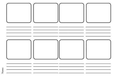 Storyboard Template Pdf Examples Of Storyboard Templates Word Ppt