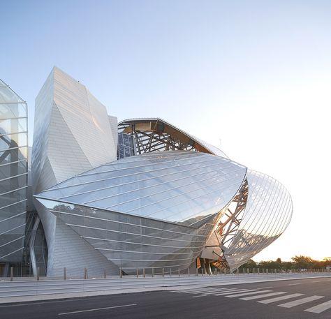 Louis Vuitton Foundation for Creation, Paris, Franck Gehry http://clementineetchocolat.com/fondation-louis-vuitton/