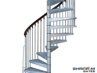 Stainless Steel Spiral Railings, SS Railings, Spiral