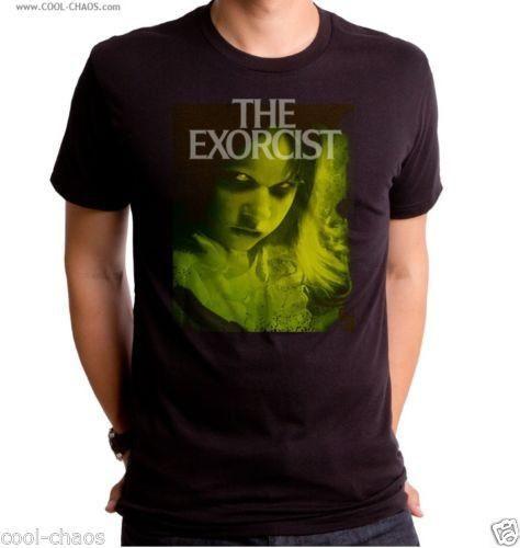 5504cd4b0ae The Exorcist T-Shirt   Men s Horror Tee   Possessed Girl Regan Exorcist
