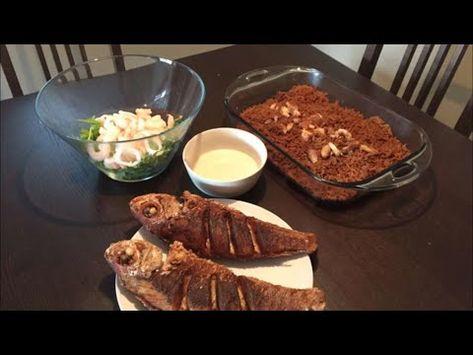 طريقة عمل الرز الصيادية مع السمك المقلي وسلطة الجرجير بالمأكولات البحرية X2f Sayadeya Rice Youtube Food Beef Pork
