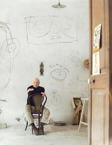 The Creators. Joan Miró (1893-1983) Spanish Painter and Sculptor