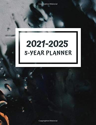 5 Year Planner 2021 2025 60 Monthly Calendar January 2021 December 2025 Address Book Letter Password Tracker R In 2020 Book Letters Kindle Reading Yearly Planner
