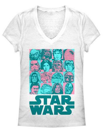 Star Wars:  Boxy Comic Juniors T-Shirt