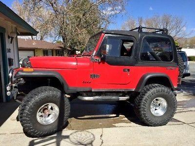 Ebay 1990 Jeep Wrangler 1990 Monster Jeep Wrangler 350 Engine