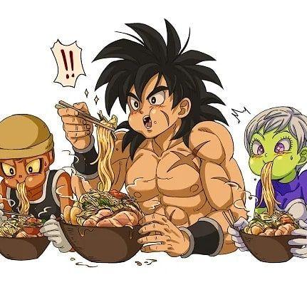 Goku Eat That Horse