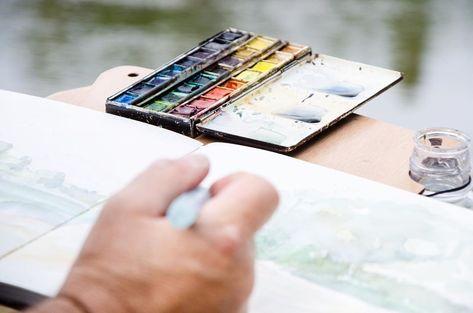 Stablo Les Chevalets Nomades On Instagram Un Pinceau Une