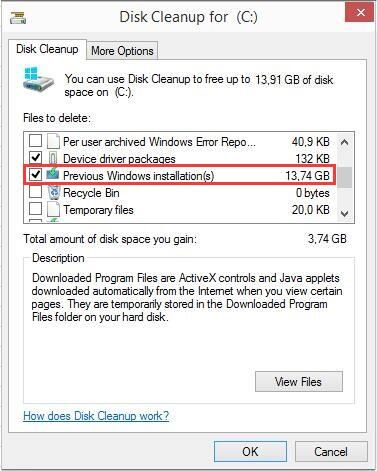 How to Delete Windows old Folder after Windows Update | disk