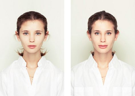 11 Perfectly Symmetrical Portraits